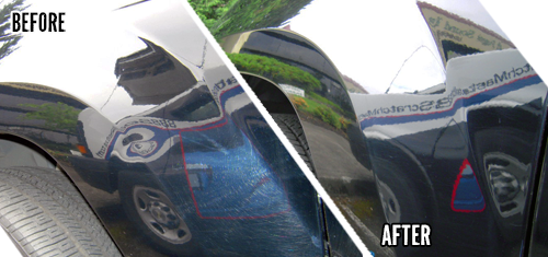 Car Dent Repair - Before & After Photos