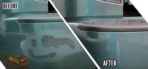 Car Scratch Repair - Before & After Photos